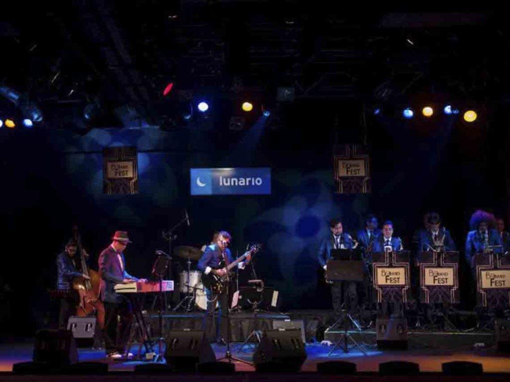 Big Band Jazz en concierto 2017 del Big Band Fest Lunario