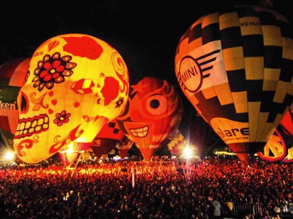 Festival nacional del globo en Tequesquitengo 2017