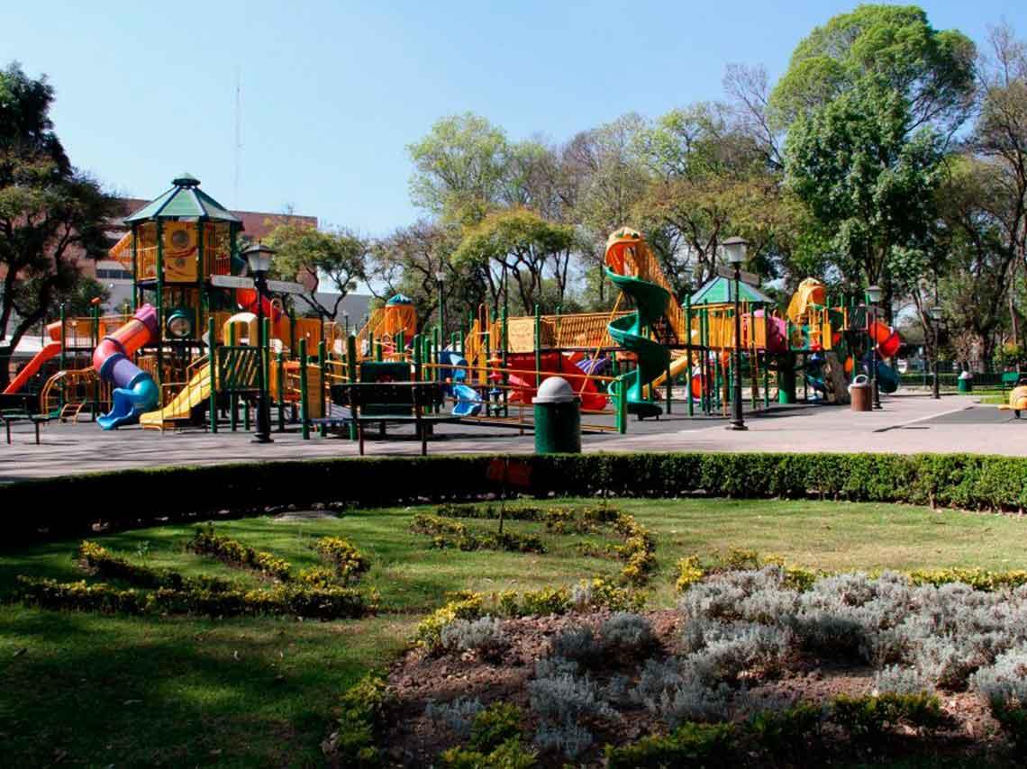 Parques para niños en CDMX con área de juegos