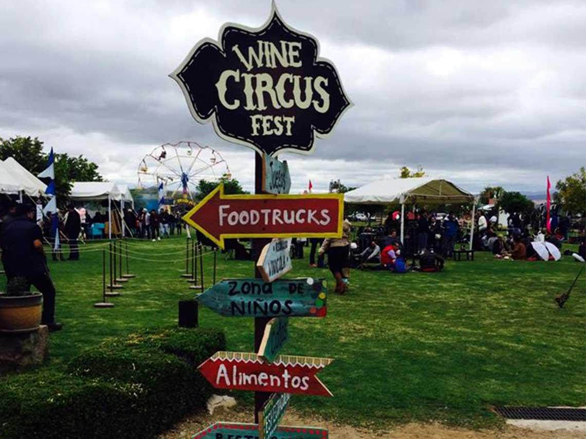 Wine Circus Fest 2017 en Viñedos la Redonda