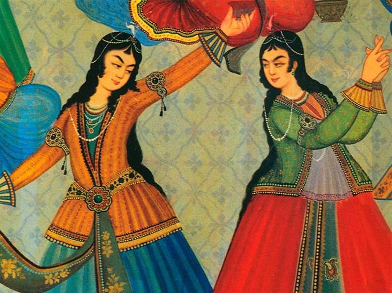 Noche de Museos de abril 2018 danzas persas