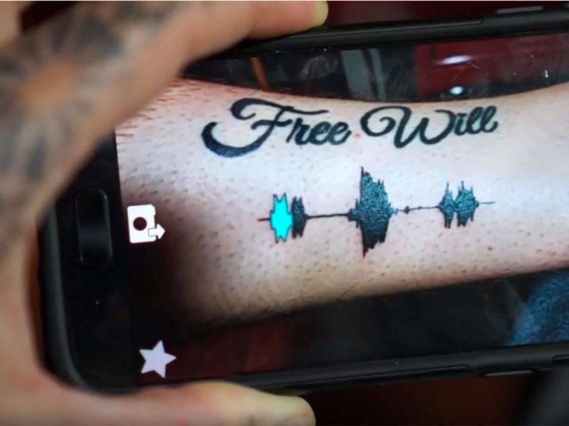 soundwave tattoo tatuajes con sonido en CDMX audio