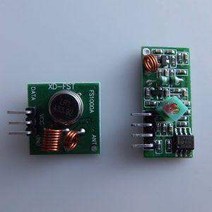 Wireless transmission Modulo 433M ARDUINO comp. super regenerative Modulo anti-theft alarm Trasmettitore