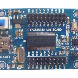 EZ-USB FX2LP CY7C68013A USB core board Scheda di Sviluppo, logic analyzer