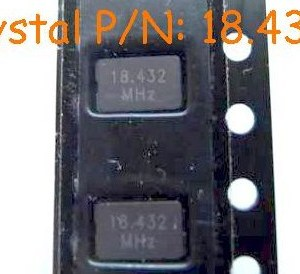 4 Pezzi Quartz 18.4320MHz case 5x3.2mm, SMD IC Circuiti Integrati