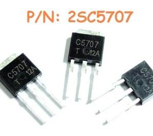 6 Pezzi 2SC5707 IC Circuiti Integrati