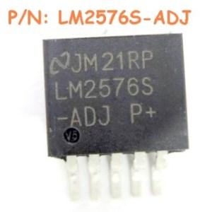 4 Pezzi LM2576S-ADJ IC Circuiti Integrati