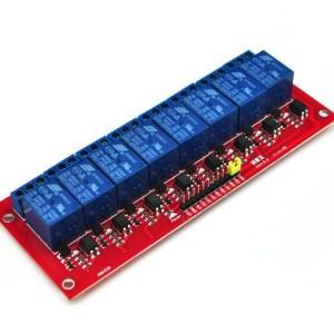 8 Canali 5V Relè Shield Modulo per Arduino ARM PIC AVR DSP SRD-05VDC-SL-C