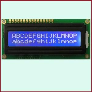 LCD Display Modulo arduino 16x2 HD44780 Character LCM BLU