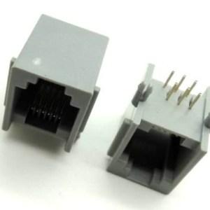 2 Pezzi Phone jack, RJ11 sockets, 6P telephone socket MODEM