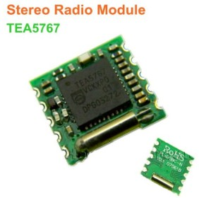 TEA5767 Philips Programmable Low-power FM Stereo Radio Modulo per Arduino