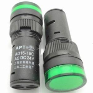 Green 11MM LAY37 to 11 m (PBC) Y090LAY7-11 m to 11 m mushroomhead push bottone Pulsante