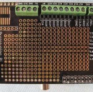 DIY Raspberry PI Expansion Prototyping Board - Black Rapsberry PI Shield