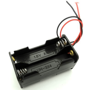 Double Side 4AA contenitore batterie