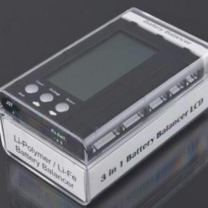 3 in 1 Batteria Balancer RC 500mA 2-6S