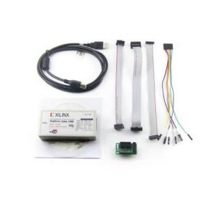 Programmatore JTAG Xilinx Platform USB FPGA CPLD kit con cavi e adattatore