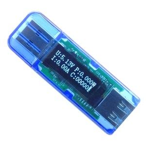 OLED USB detector Voltmetro current power capacity tester QC2.0