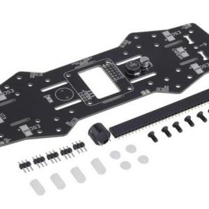PDB PCB Power Distribution Board 5/12 BEC Buzzer LED Fr QAV250 ZMR250 Naze32 CC3D