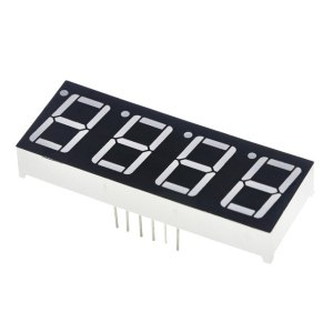 "0.56"" 4bit Common Cathode Red LED Digitale 7-Segment Display"
