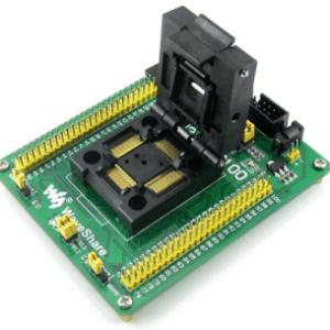 STM32-QFP64 STM32 STM32F (F1 F2 F4) STM32L LQFP64 QFP64 Program Programmatore Programming JTAG SWD Port Yamaichi IC Test & Burn-