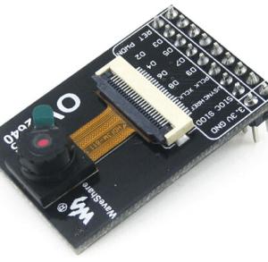 OV2640 2MP Megapixel UXGA 1622X1200 Camera Board Modulo JPEG output Scheda di Sviluppo Kit 3.3V