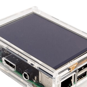 3.5inch TFT LCD Sold Acrylic Case For Raspberry PI 3