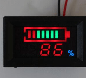 Indicatore di carica per elementi litio YB27VE 12V 3 series