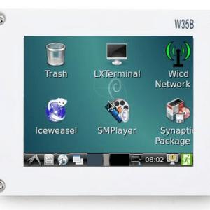 FriendlyARM 3.5 inch LCD with Resistive Touch (W35B)