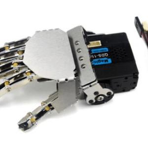 Right Robot hand-five fingers/Metal manipulator arm/Mini bionic hand/Humanoid robot arm/gripper/car accessories