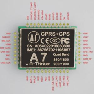 A7 GPRS Modulo GSM Modulo