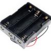 3X18650 contenitore batterie
