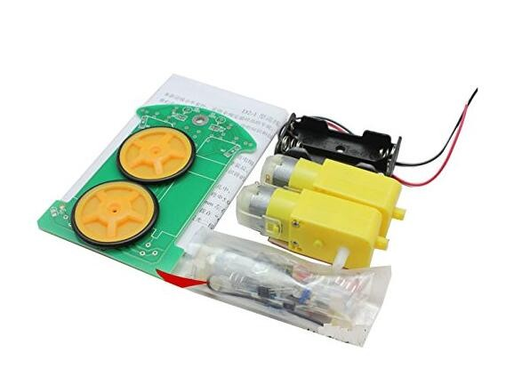 Intelligent tracking car kit / D2-1 inspection line car parts electronic production DIY (It is Accessories ,not assemblyed)