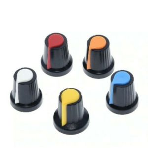 5 Pezzi PLASTIC KNOB MULTICOLOR POINTER