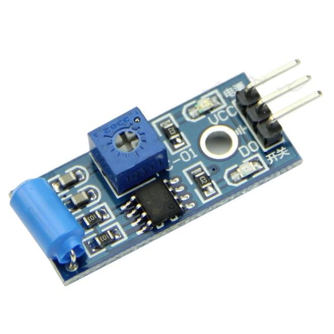 Modulo sensore di vibrazione Inclinazione Tilt SW-420 Switch normalmente chiuso