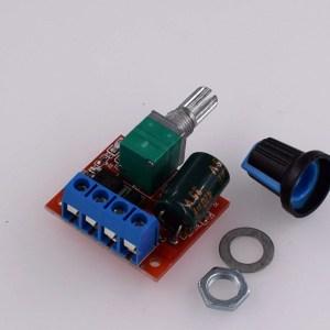HW-687 PWM Regolatore di velocità per motore CC 4.5v - 35V Regolatore di velocità 5A Funzione di commutazione Piccolo modulo dim