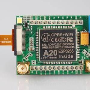 A20 Wifi + modulo GPRS con fotocamera