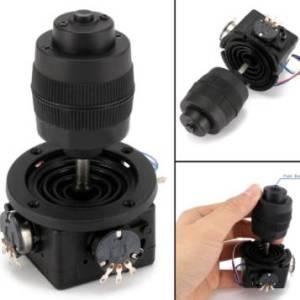 Potenziometro a pulsante nero Joystick Axis JH-D400X-R4