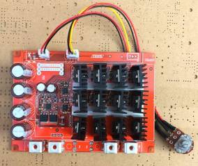Regolatore pwm regolatore regolatore pwm pompa motore CC 12V / 24V / 48V 60A 3KW