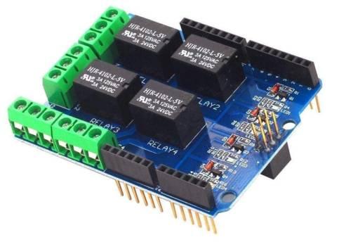 Modulo relè 5V a 4 vie, scheda controllo relè, scheda modulo scheda espansione relè