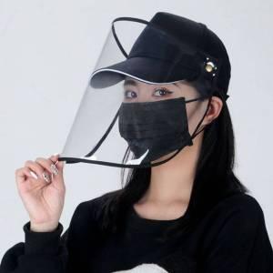 Cappello protettivo anti-sputo da pescatore Dimensioni regolabili
