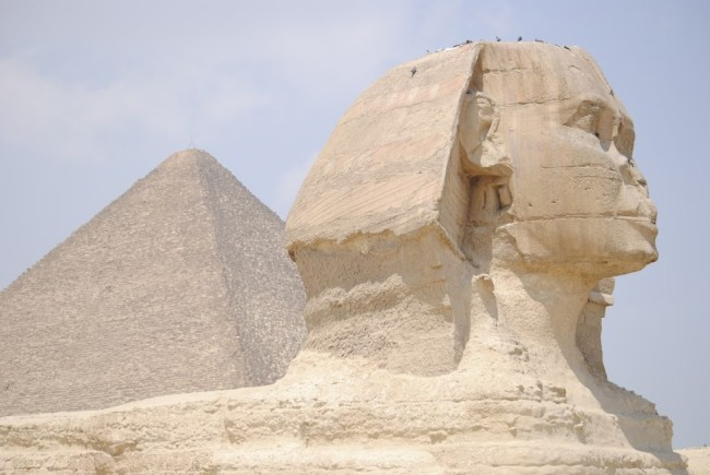 La Gran Esfinge en África