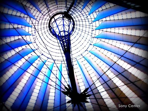 Cúpula del Sony Center en Berlín