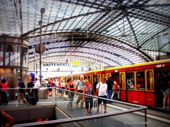 Hauptbahnhof, estación central de Berlín