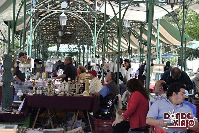 Feria de antigüedades en Valparaíso