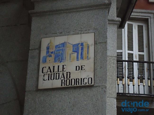 Calle ciudad de Rodrigo