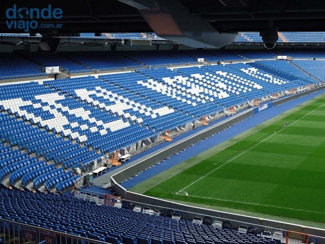 Interior del Santiago Bernabéu