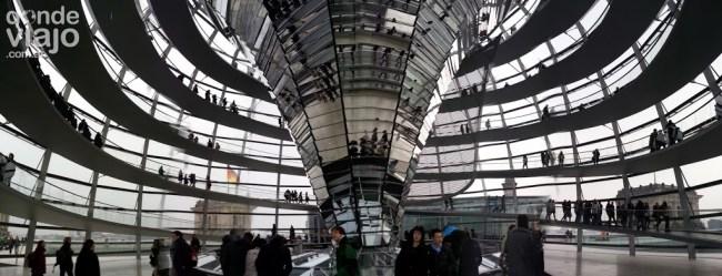 Interior del Reichstag