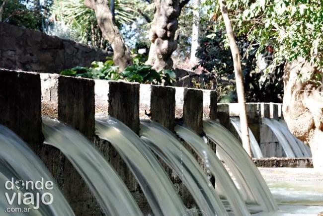 Fuentes de agua, Cerro San Bernardo