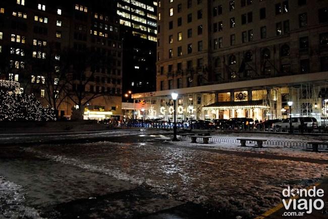 Hotel Plaza, en Nueva York