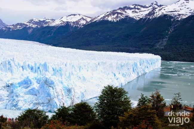 Pared norte del glaciar Perito Moreno